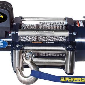 Winch - SUPERWINCH TALON 24V with STEEL Rope