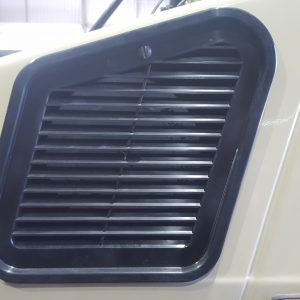 Cabin filter passenger side cover