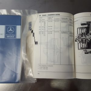 Workshop Booklet technical data UNIMOG/ MB- trac (in English)