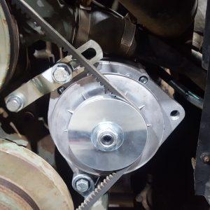 Alternator and machined bracket KIT